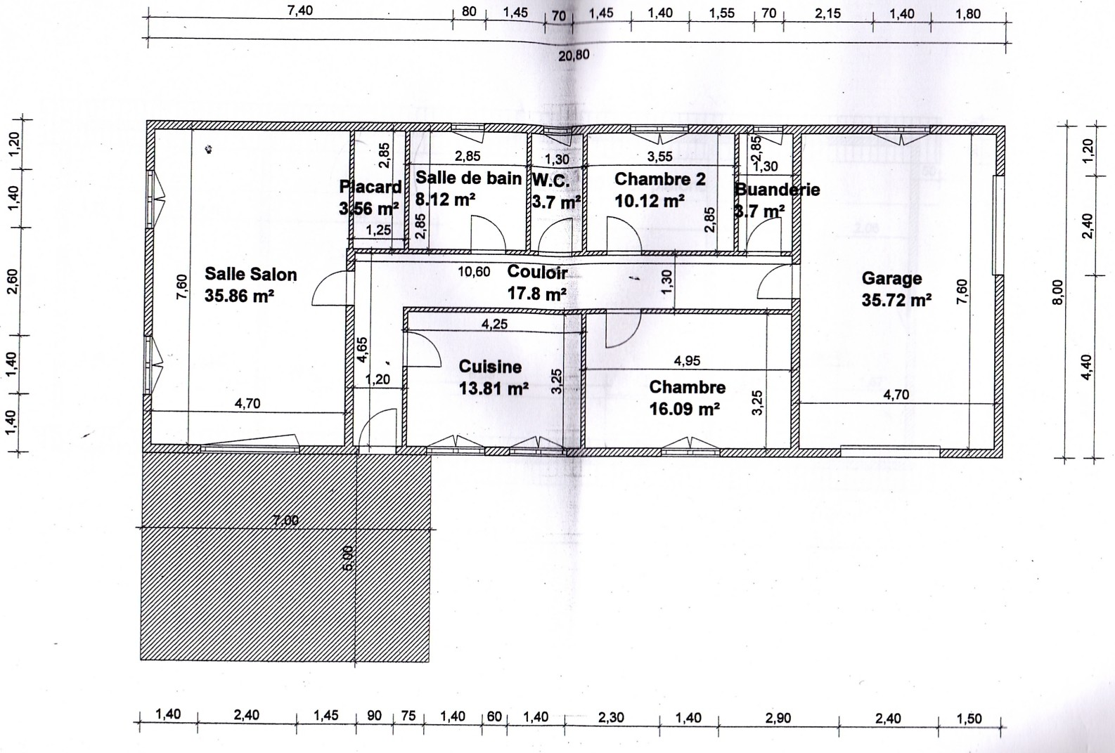 Plan Maison Rectangle